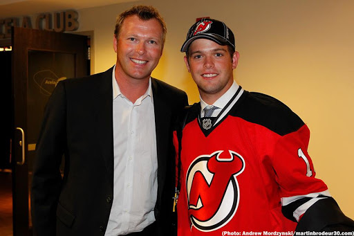 Memorable Draft Moment Proud Dad Marty Selects Son Anthony Brodeur