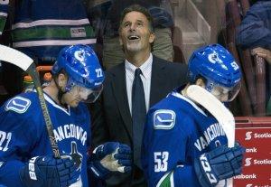 John Tortorella had reason to smile watching his new team. Canadian Press/Jonathan Hayward