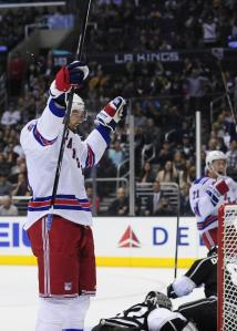 The Rangers need Rick Nash to start burying his opportunities against the Flyers.