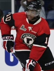 Rangers prospect Anthony Duclair is one of the featured players participating in Traverse City. Too bad you can't see him. The Canadian Press/Francis Vachon