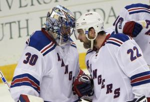 King Henrik: Henrik Lundqvist responded in a big way making 38 saves to lead the Rangers to a 5-1 Game 4 victory evening the Eastern Conference Final against the Lightning.  AP Photo by Phelan M. Ebenhack/Getty Images