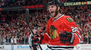 In a cap cutting move, the Blackhawks traded Brandon Saad to the Blue Jackets. Getty Images