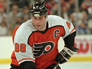 Eric Lindros won't be joining Hall Of Fame inductees Sergei Fedorov, Nicklas Lidstrom, Chris Pronger and Phil Housley in Toronto.  Getty Images
