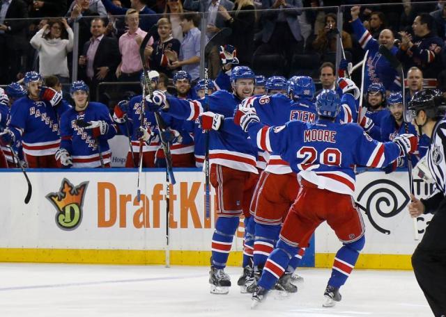 Oilers Rangers Hockey