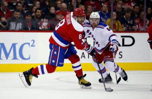 Alex Ovechkin, Dylan McIlrath