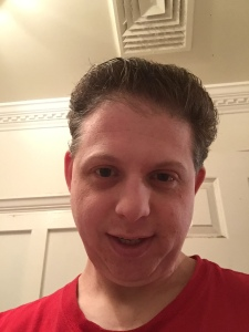 New York Puck blogger shows off his clean shave in preparation for one of hockey's biggest traditions, the playoff beard. He's ready. Are the Rangers?
