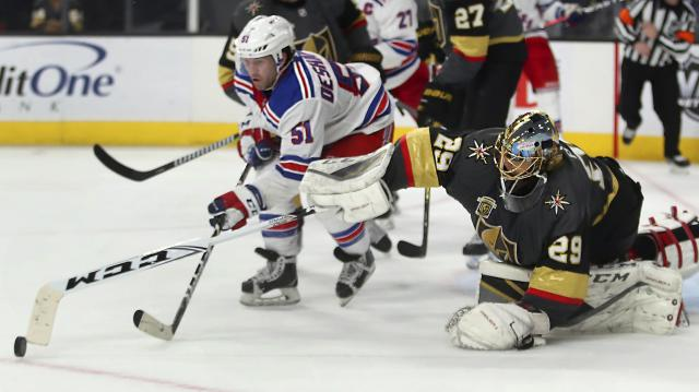 Rangers Golden Knights Hockey